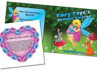 Cover and Layout Design - Children's Books