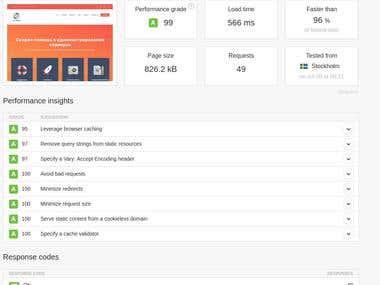 WordPress optimization & speedup.