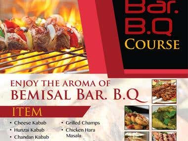 Bar B Q Leaflet
