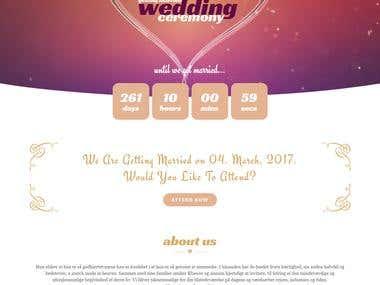 Wedding and Event Website
