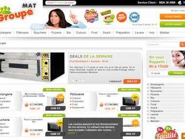 Groupemat (http://www.groupemat.com/) :