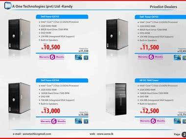 Price List Module