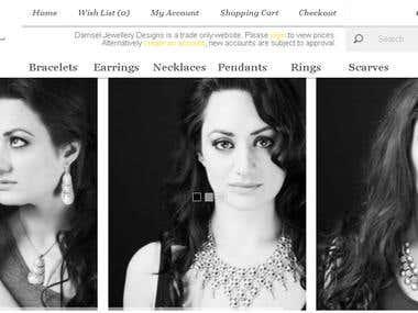 An OpenCart based E-Commerce Website