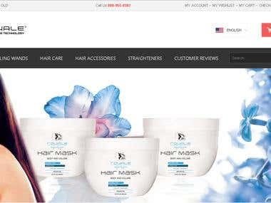 A Magento based E-Commerce Website
