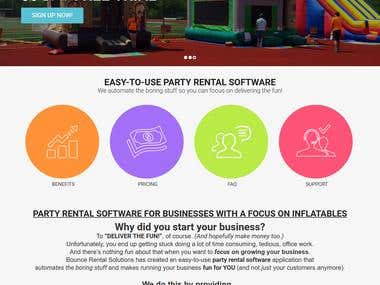 Bounce Rental Solutions - SaaS based platform