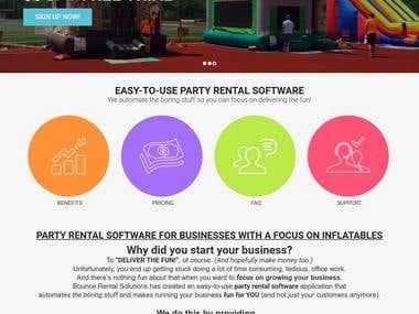 Bounce Rental Solutions - SaaS based platform