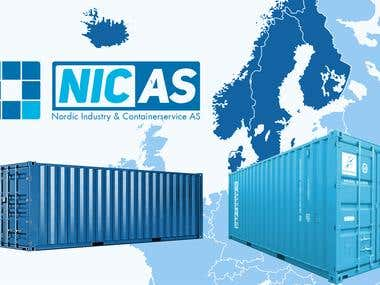 Nicas banner and logo