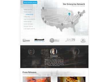 Colocrossing Website Design