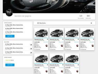 Clickmotores Pagina Web