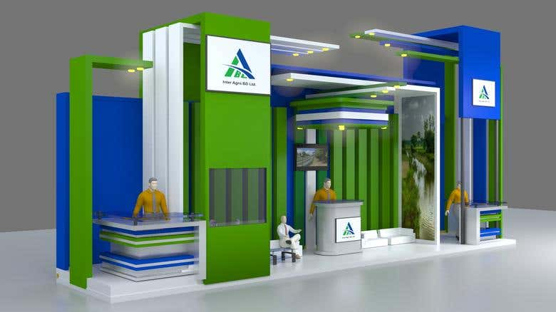 Exhibition Booth Design : Exhibition booth design. freelancer