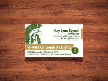 TCA Business Cards