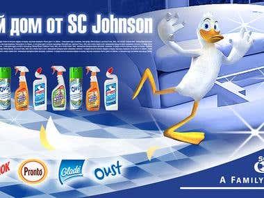SC Johnson Poster design