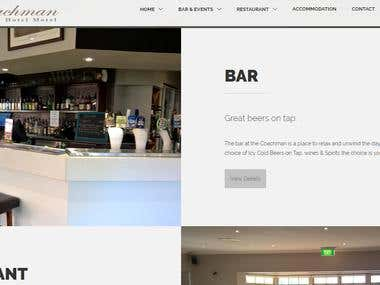 Coachman Hotel Website