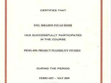 PROJECT FEASlBlLITY STUDIES
