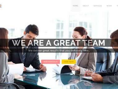 SatyaDevTech Responsive Website
