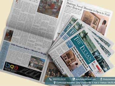 Newspaper Design / Advertising