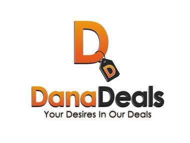 Dana Deals Logo Design