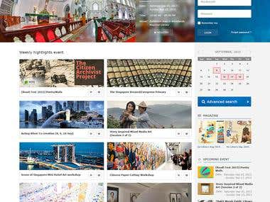 National Library portal
