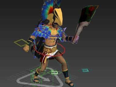 Inca Soldier