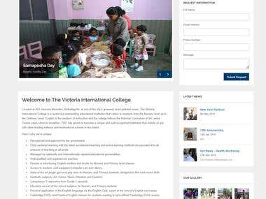 college website: victoriainternationalcollege.lk