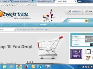ecom website