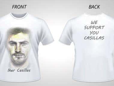 Iker Casillas Shirt