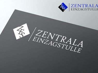 "Company logo design - ""ZES Zentrala Einzagstulle"""