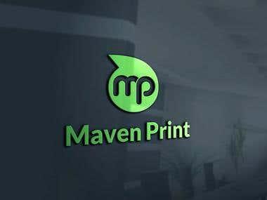 Maven Print logo