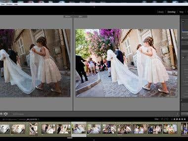 wedding photo editing lightroom