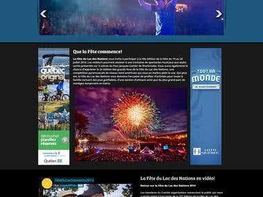 La Fete Du Lac Des Nations (Web/Mob event mgmt portal)