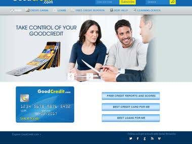 Financial,Credit card - Joomal website