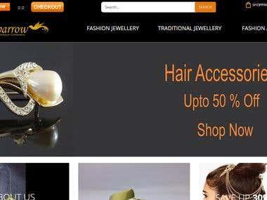 E Commerce Golden Sparrow