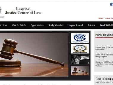 Lexpose | Justice Centre of Law