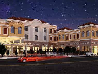 Retails Architectural design