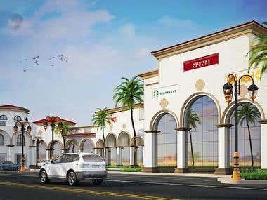 Retails building