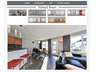 urbanupgrade.ca template 3D estate show page general