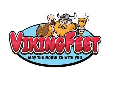 Viking Feet Logo