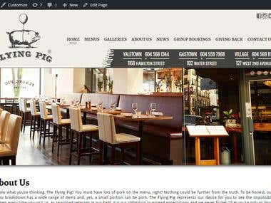 The Flying Pig Restaurant - In Gastown,