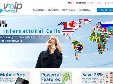 VOIP Roaming Hosted Business PBX