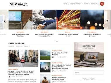 NewMagz WordPress Theme