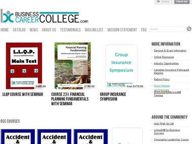 College Online Study Website