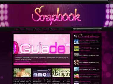 Scrapbook Website