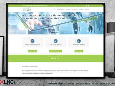 Website Design - Marsteller Marketing Enterprise