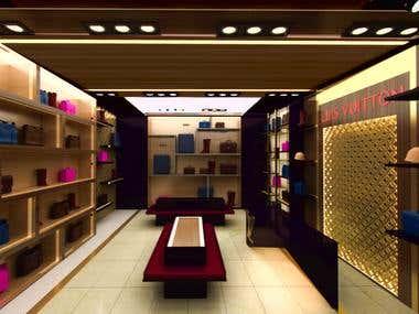 shoeshop  retail design