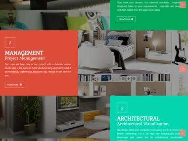 Dynamic Responsive website