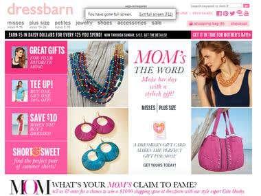 e-Commerce http://www.dressbarn.com/