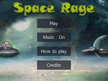 Space Rage for Windows Phone