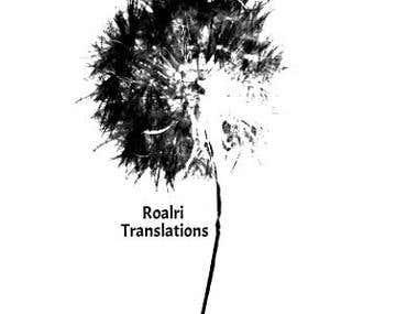 Roalri Translations and Internet Reseach