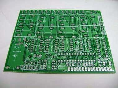Single PCB timer with Arduino and relays