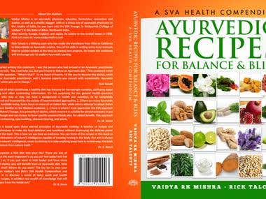 Cookbook cover + layout